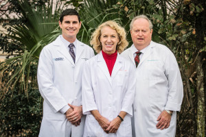 Dr. Craig Brown, Dr. Dennis McNally, Esther Davis, South Baldwin OBGYN